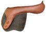 Jeté Jumping Saddle – Shoulder Relief Panel