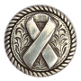 Charity Ribbon Concho