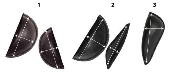 Jumping Saddle - Internal Thigh & Calf Block