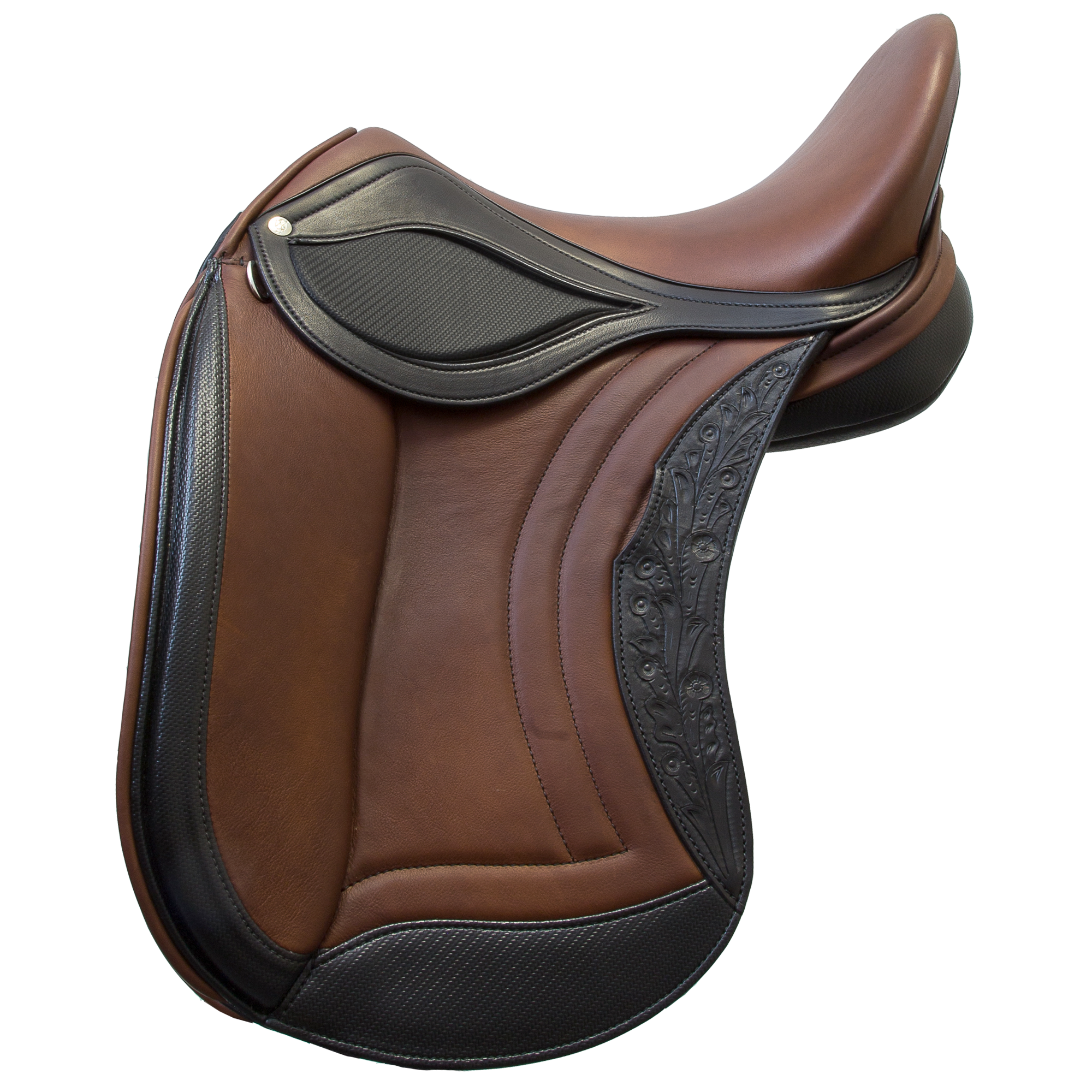 Tribute Dressage Saddle - Side View