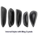 Internal Bling Thigh Rolls - 5 Styles