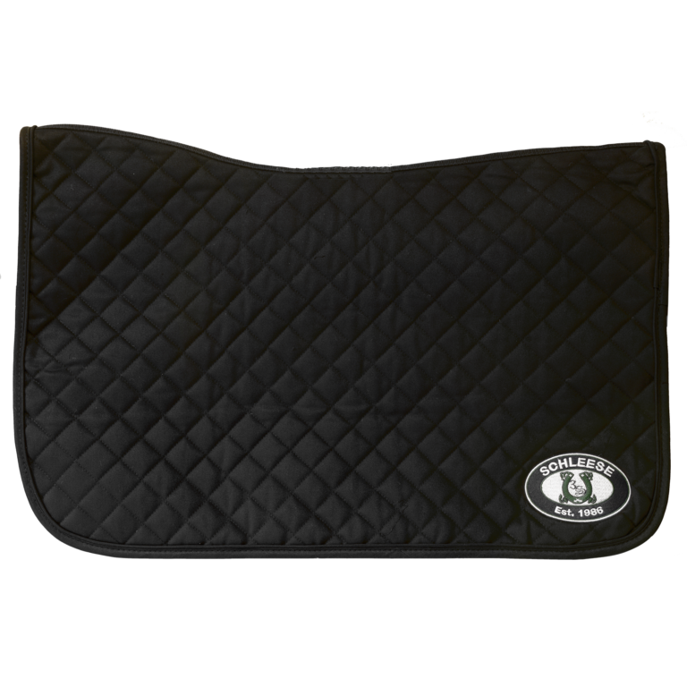 Western Saddle Pad with Schleese Logo