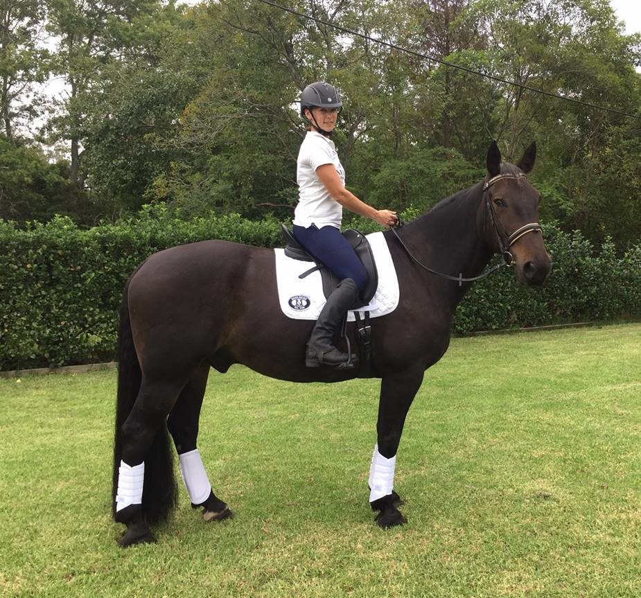 """ I'm so pleased with the saddle and can't thank you and Jochen enough!"""