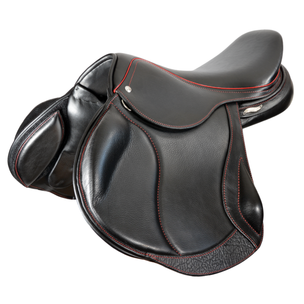 Eventer II - Black with Red Stitiching
