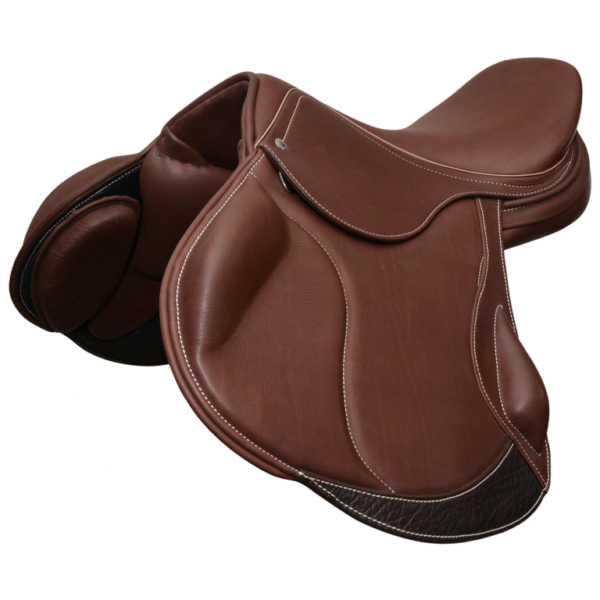 Eventer II Jumping Saddle Quarter Angle View