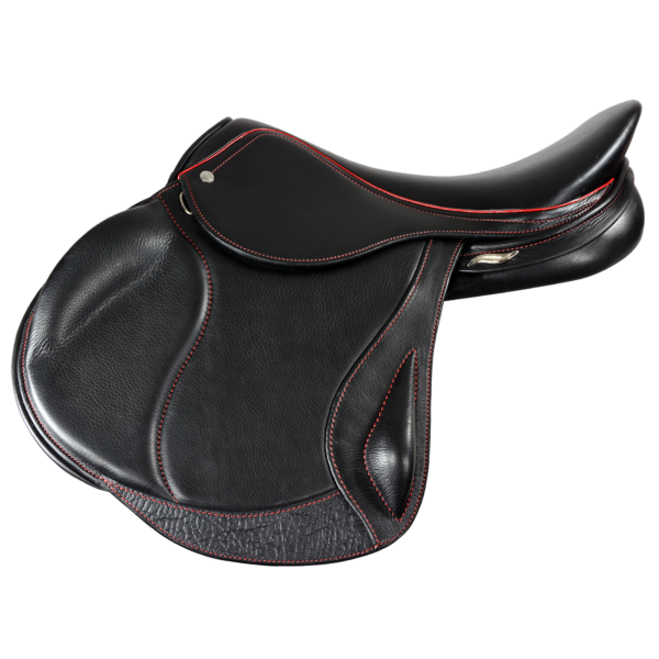Eventer II - Black with Red Stitching